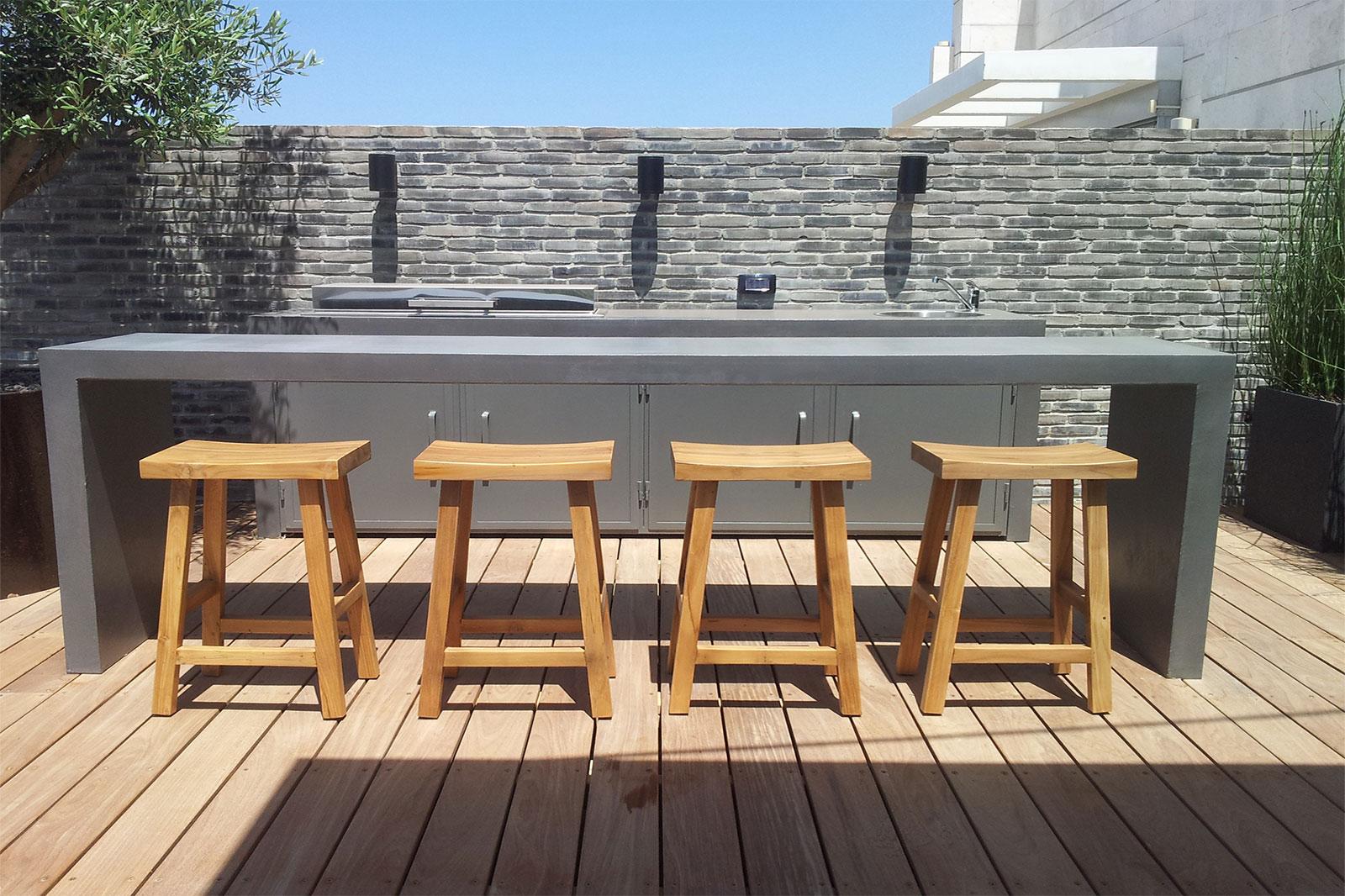 Concrete outdoor kitchen by BETONADA (23)