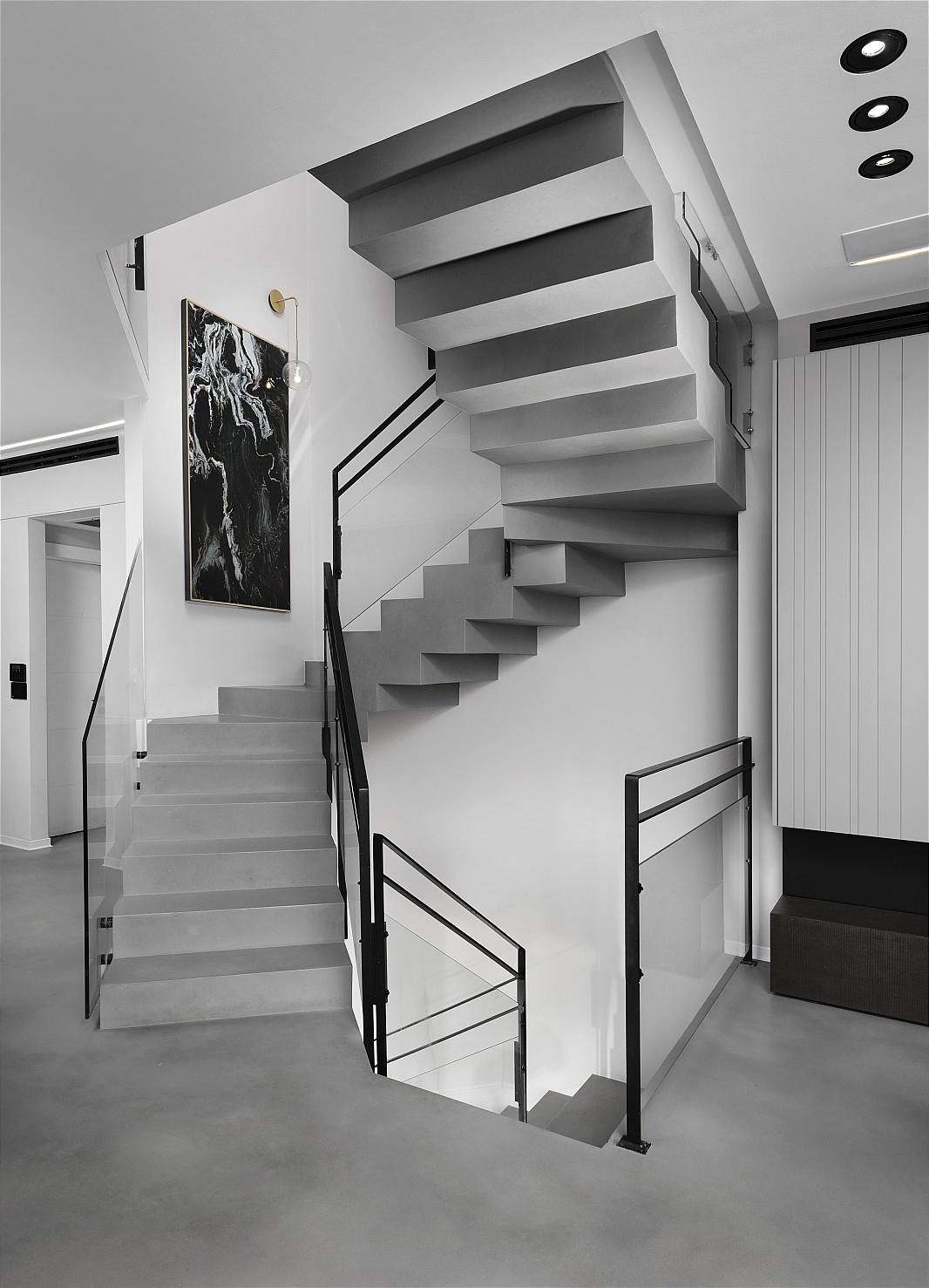עיצוב בית - בטון אדריכלי