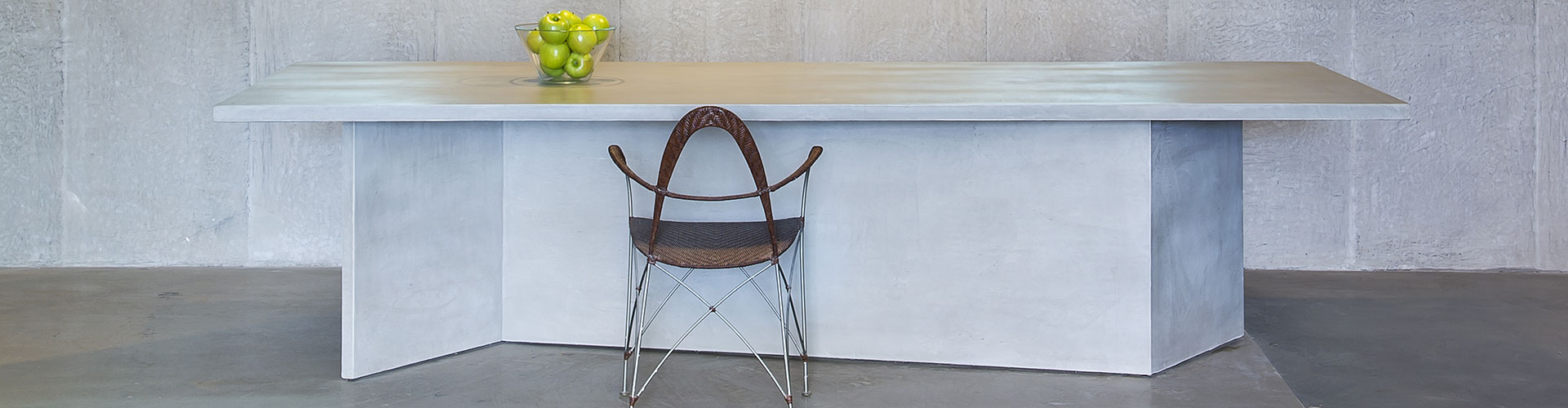 שולחן בטון למטבח