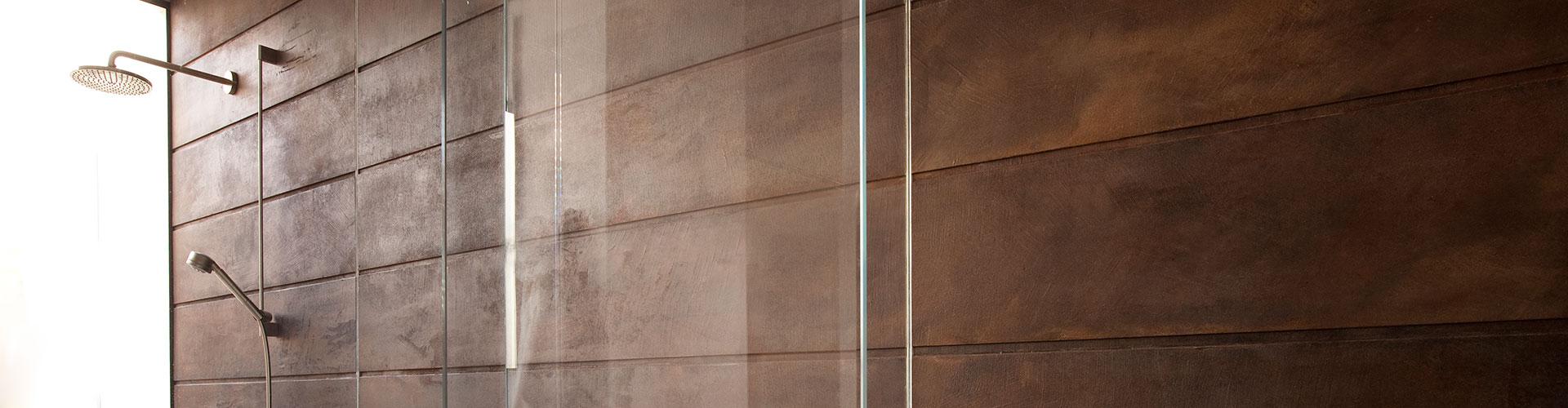 Microtopping wall by BETONADA 1 - לוחות בטון אדריכלי