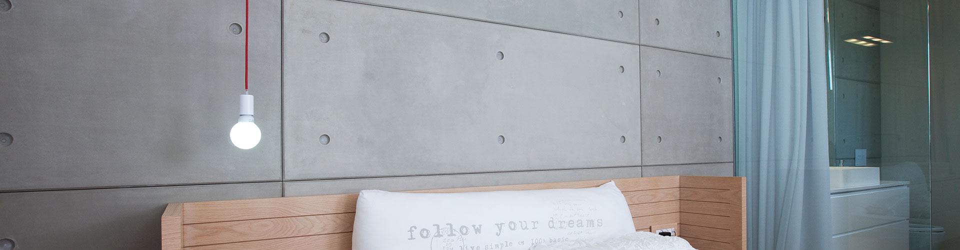 Microtopping wall by BETONADA 2