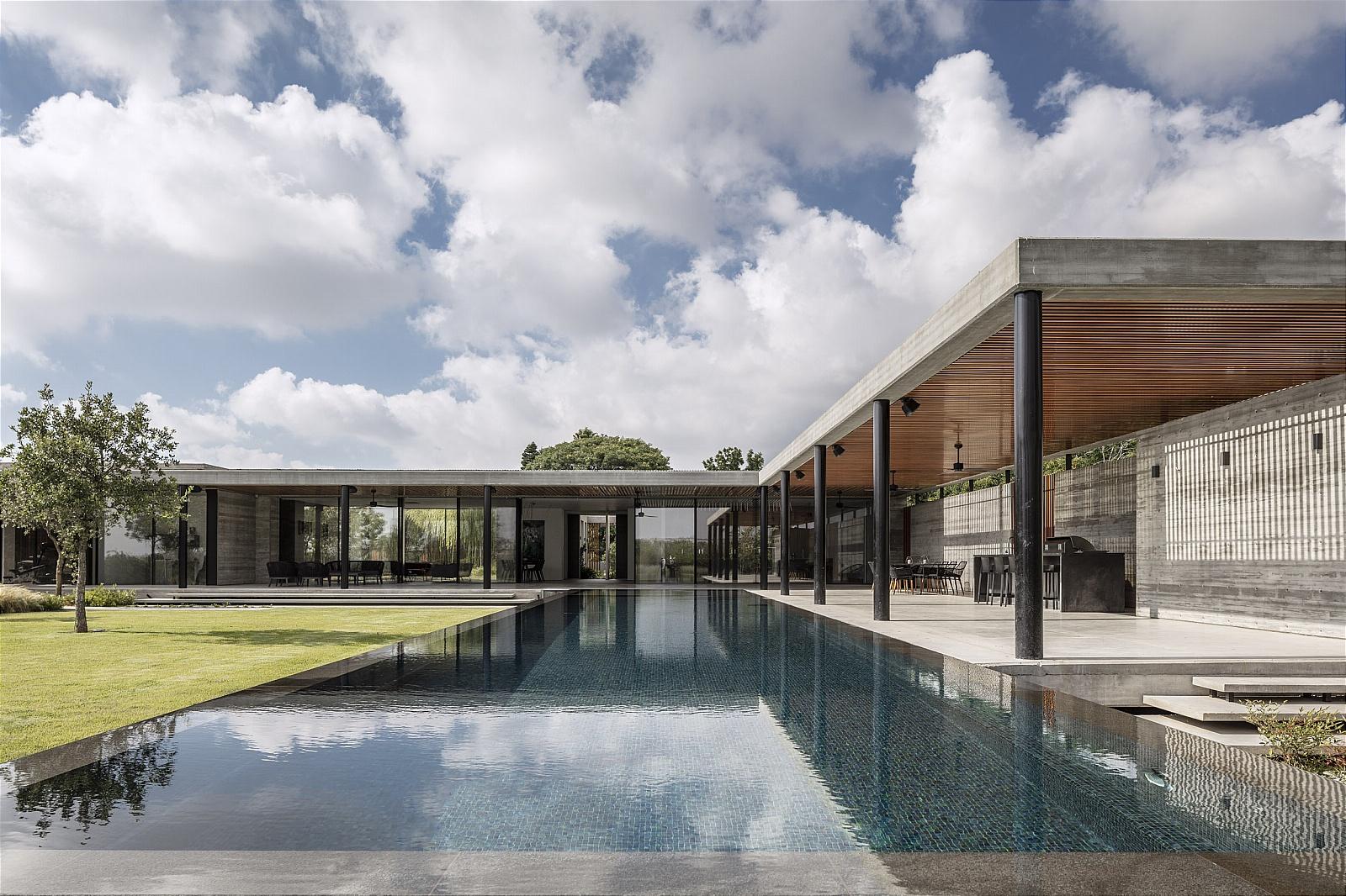עיצוב אדריכלי בבטון